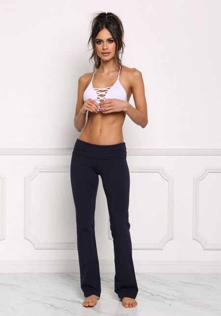 Navy Yoga Stretch Pants