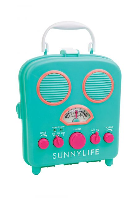 SunnyLife Turquoise Beach Sounds Speaker