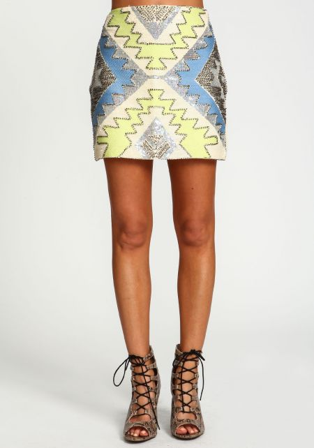 Glam Sequin Party Skirt