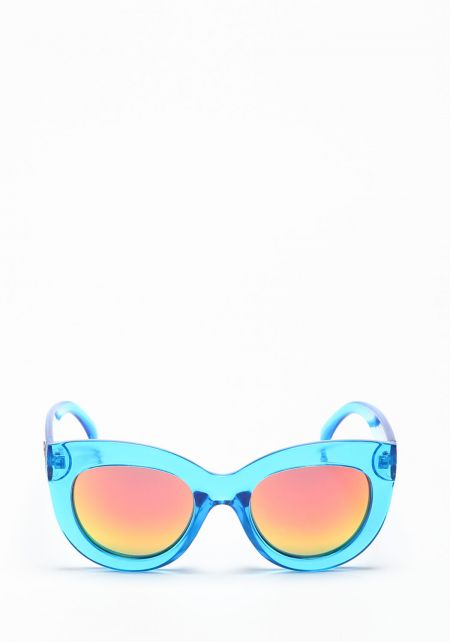 Quay Delilah Sunglasses Blue