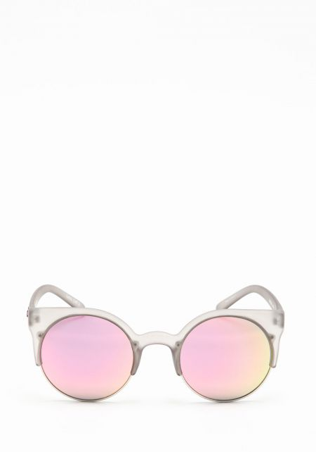 Quay Harlm Sunglasses in Grey/Pink