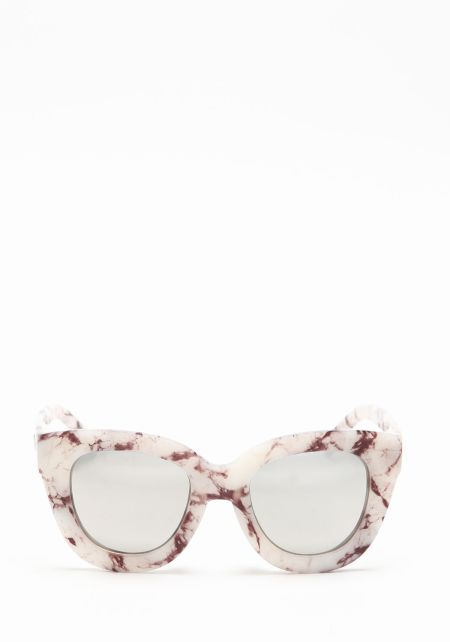 Quay Sugar and Spice Sunglasses in Marble