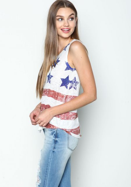 Star Spangled Graphic Tee