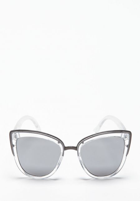 Quay My Girl Sunglasses in Silver