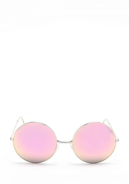 Quay Dynasty Sunglasses in Pink