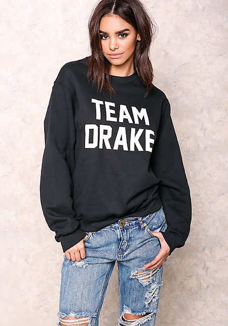 Private Party Team Drake Graphic Sweater