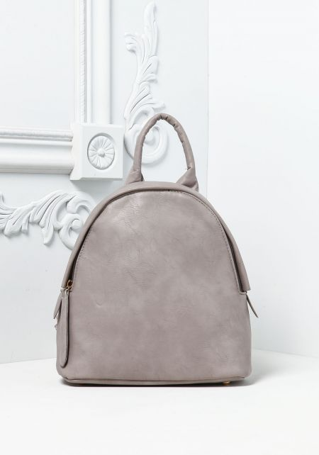 Stone Leatherette Chain Strap Backpack