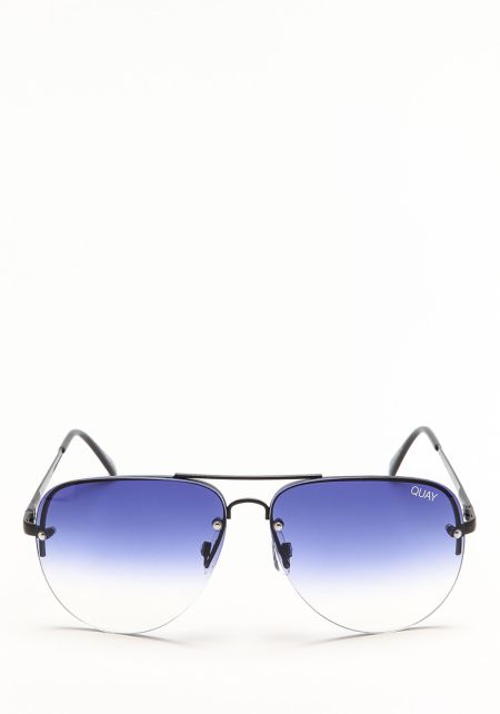 Quay Muse Fade Sunglasses in Black and Navy