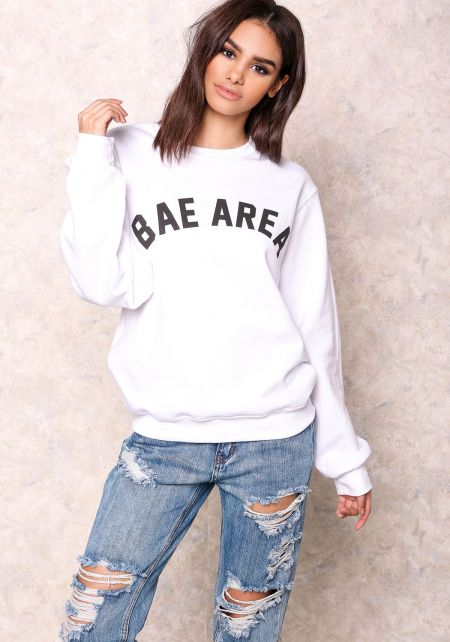 Private Party Bae Area Graphic Sweater