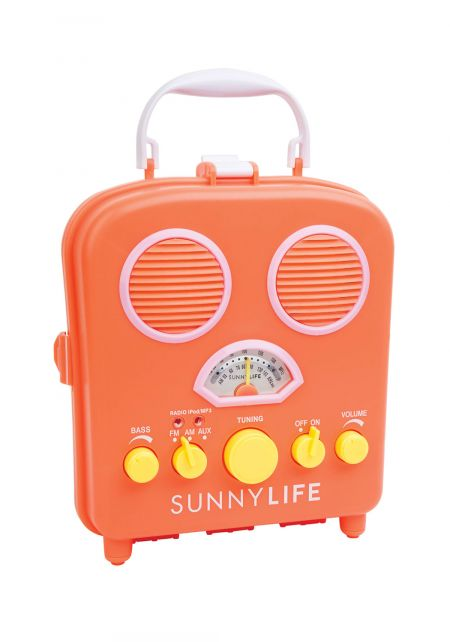 SunnyLife Orange Beach Sounds Speaker