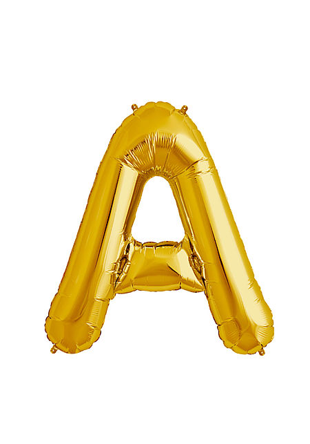 A Xtra Large Gold Foil Balloon