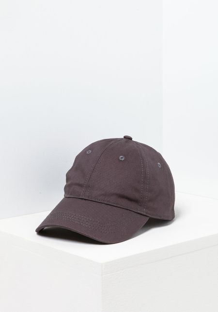 Charcoal 6 Panel Cotton Baseball Cap