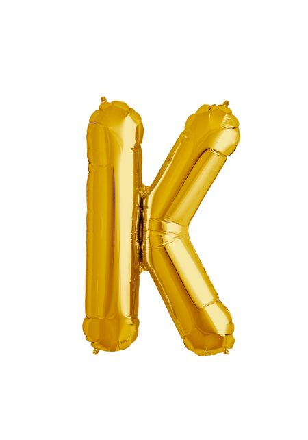 K Xtra Large Gold Foil Balloon