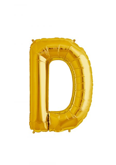 D Xtra Large Gold Foil Balloon