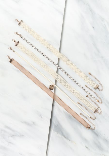 Assorted Chokers Set