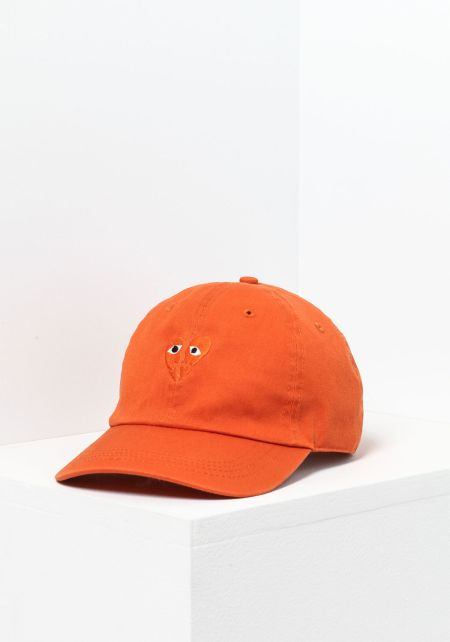 Petals and Peacocks Heartbreak Cap in Orange