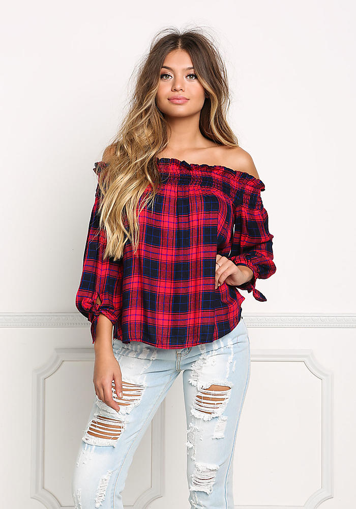 Seeking 90s vibes? You've come to the right place! Shop our chic button down long sleeve and short sleeve plaid shirts and relive the 90s in style. Get free shipping on orders over $50, free returns and 50% off your 1st order!