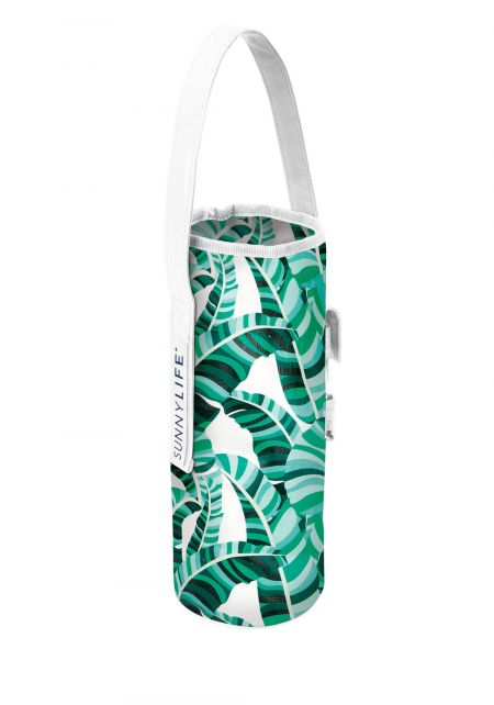 Sunnylife Tropical Cooler Bottle Tote