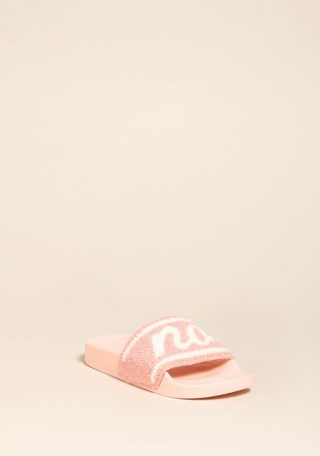 Blush No Shade Slide Sandals