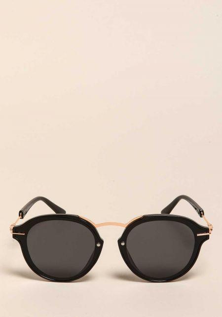 Black Club Master Sunglasses