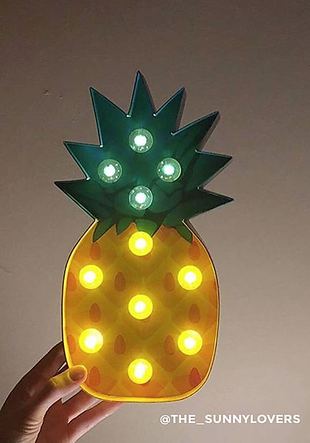 Junior Clothing Sunnylife Pineapple Marquee Light
