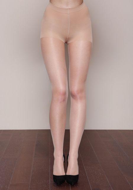 Nude Control Top Hosiery