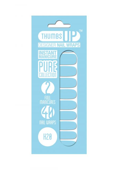 H2O Nail Wrap by Thumbs Up UK