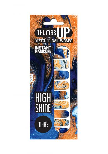 Mars Nail Wrap by Thumbs Up UK