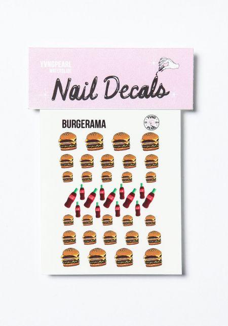 Burgerama Nail Decals