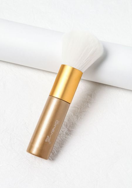 Gold Makeup Brush