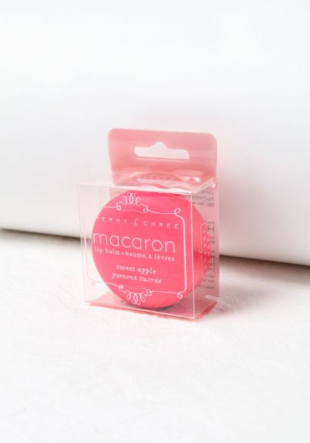 Sweet Apple Macaron Lip Balm