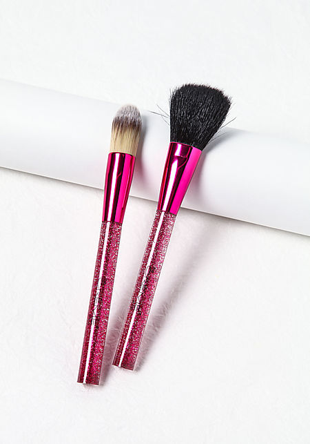 Pink Complexion Pair Brushes Box Set