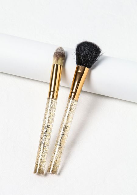 Gold Complexion Pair Brushes