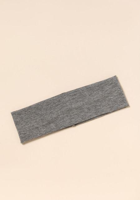 Grey Knit Headband