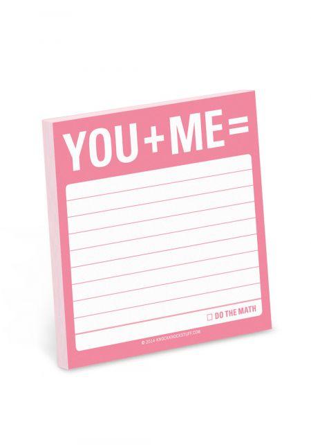You + Me Sticky Notes