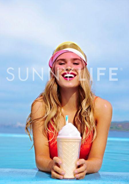 SunnyLife Ice Cream Tumbler Sipper