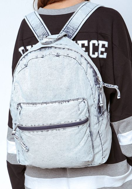 Light Denim Backpack
