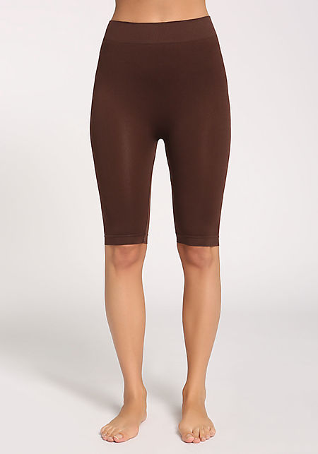 Dark Brown Cropped Leggings