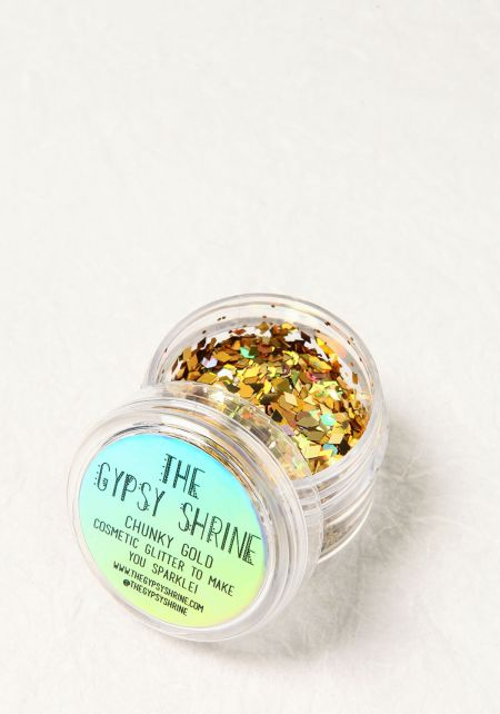 The Gypsy Shrine Gold Chunky Cosmetic Glitter