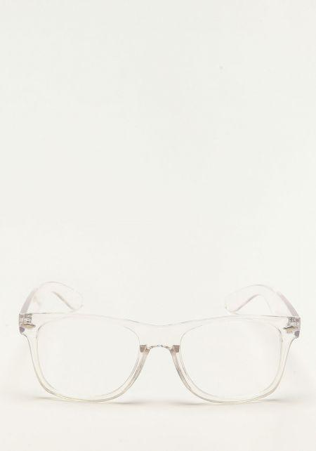 Zero UV Clear Frame Glasses