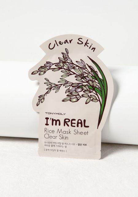TonyMoly Clear Skin Rice Mask