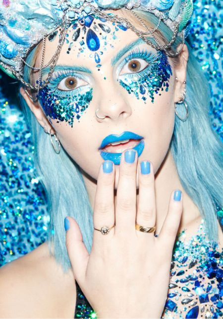 The Gypsy Shrine Teal Chunky Cosmetic Glitter