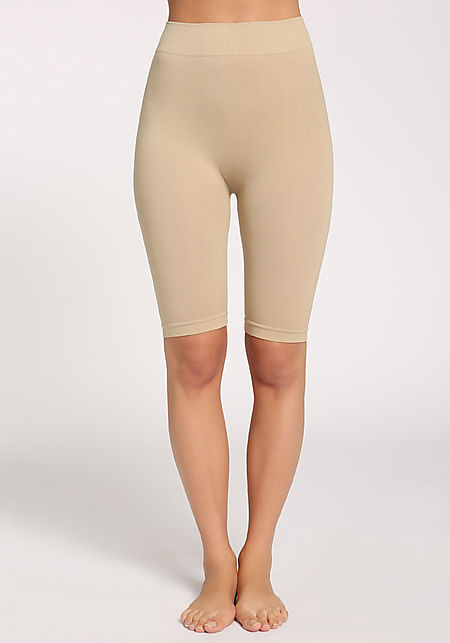 Khaki Cropped Leggings