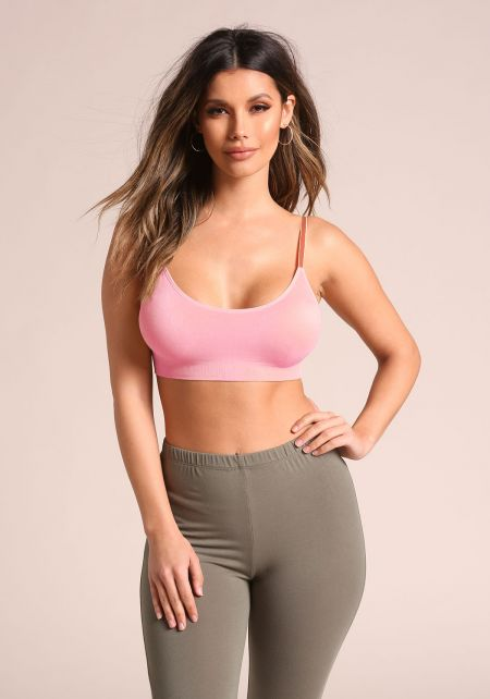 Dusty Rose Padded Bra