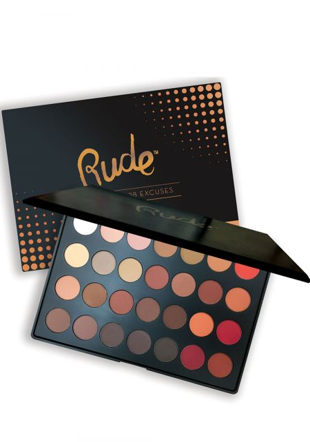 Rude Cosmetics No Regrets Leo Matte Eye Shadow Pal