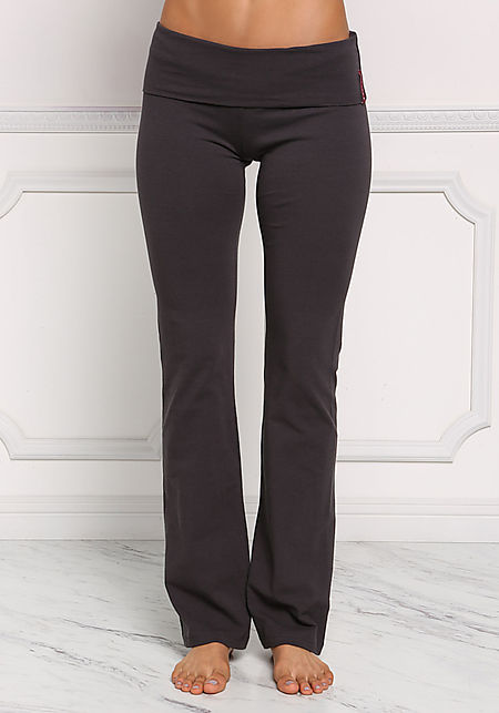 Charcoal Yoga Stretch Pants