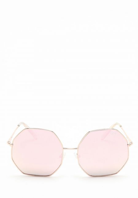 Quay Kiss & Tell Sunglasses in Pink