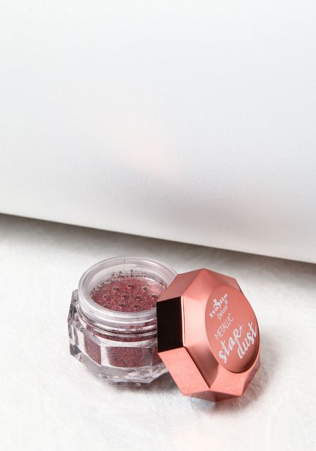 Rose Gold Metallic Stardust Powder