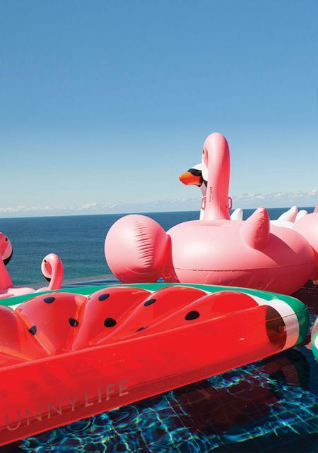 SunnyLife Inflatable Watermelon Pool Float