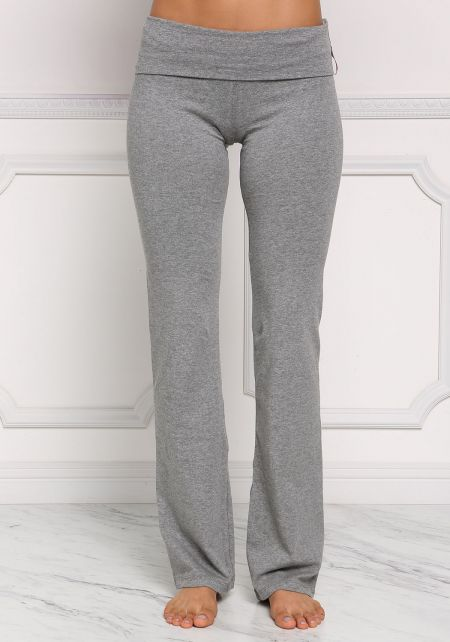 Heather Grey Yoga Stretch Pants